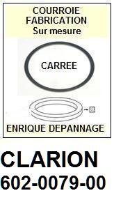 FICHE-DE-VENTE-COURROIES-COMPATIBLES-CLARION-602007900 602-0079-00
