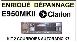 CLARION-E950MKII E950 MKII-COURROIES-ET-KITS-COURROIES-COMPATIBLES