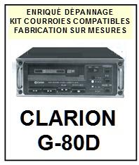 CLARION-G80D G-80D-COURROIES-ET-KITS-COURROIES-COMPATIBLES