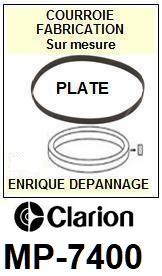 CLARION-MP7400G MP-7400G-COURROIES-ET-KITS-COURROIES-COMPATIBLES