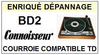 CONNOISSEUR-BD2-COURROIES-ET-KITS-COURROIES-COMPATIBLES