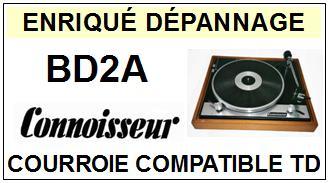 CONNOISSEUR-BD2A-COURROIES-ET-KITS-COURROIES-COMPATIBLES