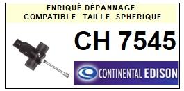 CONTINENTAL EDISON-CH7545-POINTES-DE-LECTURE-DIAMANTS-SAPHIRS-COMPATIBLES
