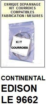 CONTINENTAL EDISON-LE9662-COURROIES-ET-KITS-COURROIES-COMPATIBLES