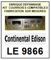 CONTINENTAL EDISON-LE9866-COURROIES-ET-KITS-COURROIES-COMPATIBLES