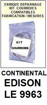 CONTINENTAL EDISON-LE9963-COURROIES-ET-KITS-COURROIES-COMPATIBLES
