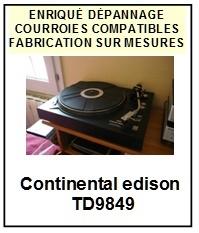 CONTINENTAL EDISON-TD9849-COURROIES-ET-KITS-COURROIES-COMPATIBLES