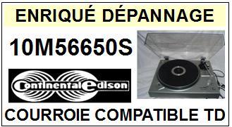 CONTINENTAL EDISON-10M56650S-COURROIES-ET-KITS-COURROIES-COMPATIBLES