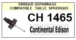 CONTINENTAL EDISON-CH1465-POINTES-DE-LECTURE-DIAMANTS-SAPHIRS-COMPATIBLES