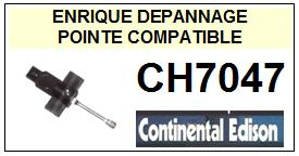 CONTINENTAL EDISON-CH7047-POINTES-DE-LECTURE-DIAMANTS-SAPHIRS-COMPATIBLES