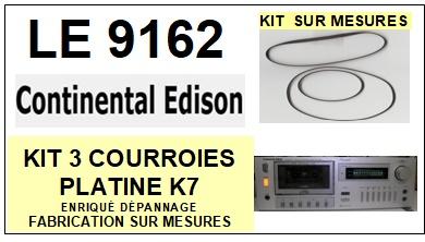CONTINENTAL EDISON-LE9162-COURROIES-ET-KITS-COURROIES-COMPATIBLES