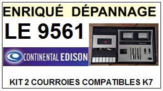 CONTINENTAL EDISON-LE9561 LE-9561-COURROIES-ET-KITS-COURROIES-COMPATIBLES