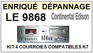 CONTINENTAL EDISON-LE9868-COURROIES-ET-KITS-COURROIES-COMPATIBLES