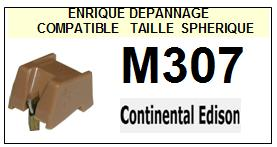 CONTINENTAL EDISON M307  <br> Pointe Diamant sphérique (stylus) <BR><small> 2015-10</small>