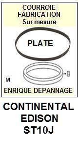 CONTINENTAL EDISON-ST10J-COURROIES-ET-KITS-COURROIES-COMPATIBLES