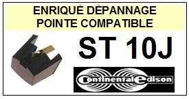 CONTINENTAL EDISON Platine ST10J <br>Pointe diamant sphérique (stylus)<small> 2015-12</small>