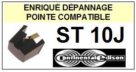CONTINENTAL EDISON Platine ST10J <br>Pointe diamant sphérique (stylus)<small> 2015-12</small>