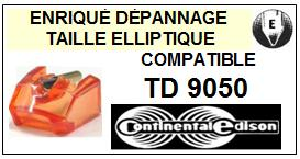 CONTINENTAL EDISON TD9050  <br>Pointe elliptique pour tourne-disques (stylus)<small> 2015-12</small>