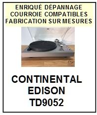 CONTINENTAL EDISON-TD9052-COURROIES-ET-KITS-COURROIES-COMPATIBLES