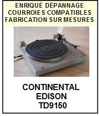 CONTINENTAL EDISON-TD9150-COURROIES-ET-KITS-COURROIES-COMPATIBLES