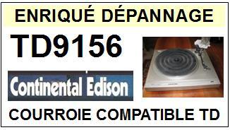 CONTINENTAL EDISON-TD9156-COURROIES-ET-KITS-COURROIES-COMPATIBLES