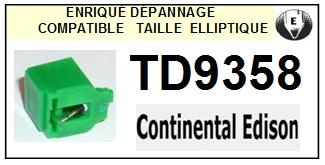 CONTINENTAL EDISON TD9358 Pointe elliptique pour tourne-disques (stylus)<small> 2015-11</small>