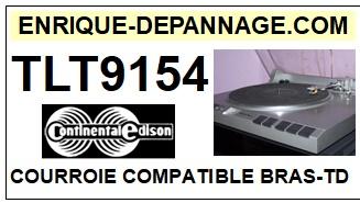CONTINENTAL EDISON-TLT9154-COURROIES-ET-KITS-COURROIES-COMPATIBLES