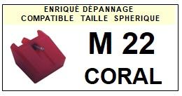 CORAL-M22-POINTES-DE-LECTURE-DIAMANTS-SAPHIRS-COMPATIBLES