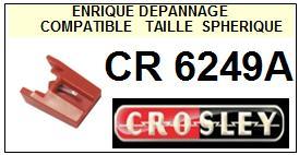 CROSLEY<br> CR6249A  Pointe sphérique pour tourne-disques <BR><small>sc 2015-08</small>