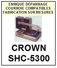 CROWN-SHC5300 SHC-5300-COURROIES-ET-KITS-COURROIES-COMPATIBLES