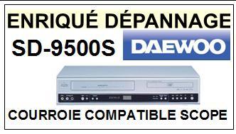 DAEWOO-SD9500S SD-9500S-COURROIES-ET-KITS-COURROIES-COMPATIBLES