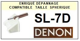 DENON-SL7D  SL-7D-POINTES-DE-LECTURE-DIAMANTS-SAPHIRS-COMPATIBLES