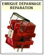 DENON CELLULE  DL110  DL-110  Réparation : échange cantilever alu et pose  Diamant Elliptique