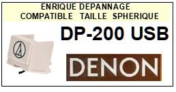 DENON DP200USB <br>Pointe sphérique pour tourne-disques (stylus)<small> 2015-12</small>