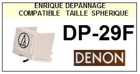 DENON DP29F DP-29F <br>Pointe sphérique pour tourne-disques (stylus)<small> 2015-11</small>
