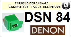 DENON<br> DSN84  Pointe (stylus) Diamant Elliptique <br><small>a 2015-08</small>