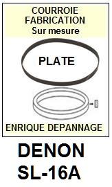 DENON-SL16A SL-16A-COURROIES-ET-KITS-COURROIES-COMPATIBLES