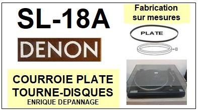 DENON-SL18A SL-18A-COURROIES-ET-KITS-COURROIES-COMPATIBLES