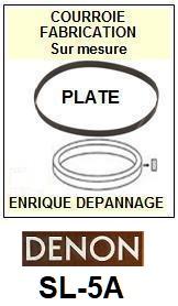 DENON-SL5A SL-5A-COURROIES-ET-KITS-COURROIES-COMPATIBLES
