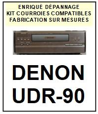 DENON-UDR90 UDR-90  ( ENSEMBLE D-90)-COURROIES-ET-KITS-COURROIES-COMPATIBLES