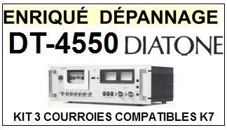 DIATONE-DT4550S DT-4550S-COURROIES-ET-KITS-COURROIES-COMPATIBLES