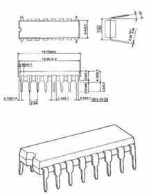 TL494CN  CIRCUIT INTÉGRÉ   (DIP 16)  LOT 2 PIECES