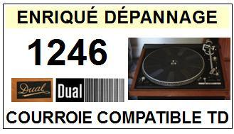 DUAL-1246-COURROIES-ET-KITS-COURROIES-COMPATIBLES
