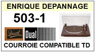 DUAL-503-1-COURROIES-ET-KITS-COURROIES-COMPATIBLES