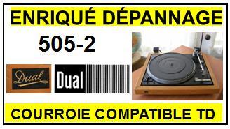 DUAL-502-2-COURROIES-ET-KITS-COURROIES-COMPATIBLES