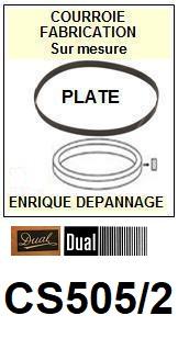 DUAL-505/2-COURROIES-ET-KITS-COURROIES-COMPATIBLES