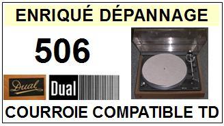 DUAL-506-COURROIES-ET-KITS-COURROIES-COMPATIBLES