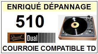 DUAL-510-COURROIES-ET-KITS-COURROIES-COMPATIBLES