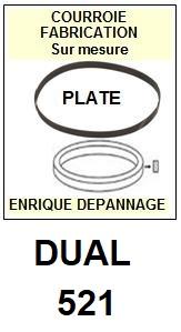 DUAL-521-COURROIES-ET-KITS-COURROIES-COMPATIBLES