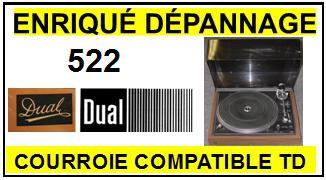 DUAL-522-COURROIES-ET-KITS-COURROIES-COMPATIBLES